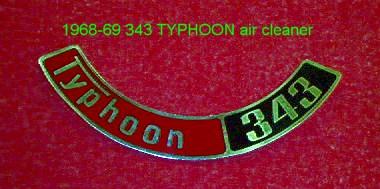 1962 AMERICAN MOTORS TRIPOISED AIR CLEANER DECAL
